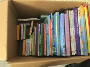 Box full of baby & toddler books