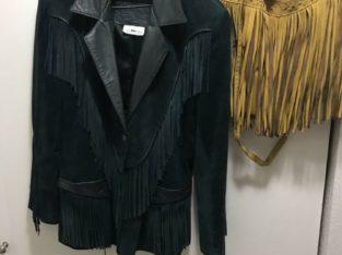 Wanted: Fringe leather jacket 100% Canadian leather
