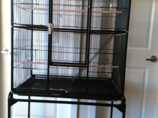 BRAND NEW Double-Deck Parrot Bird Cage For Sale – $200