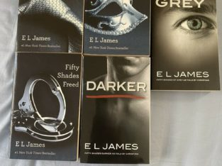 50 shades of grey books collection