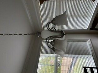 Light fixture with smaller hallway 2 light fixture
