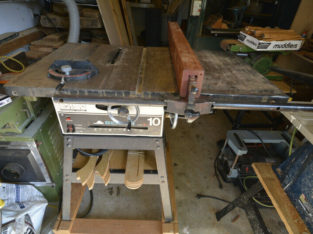 Table Saw-10″ Delta-Beaver *Made in Canada