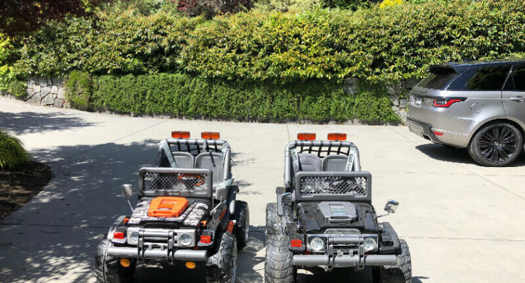 Rechargeable Peg Prego Jeep Cars