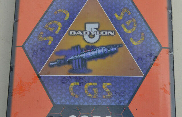 MINT IN BOX Babylon 5 LIMITED EDITION 2258 Component Game System