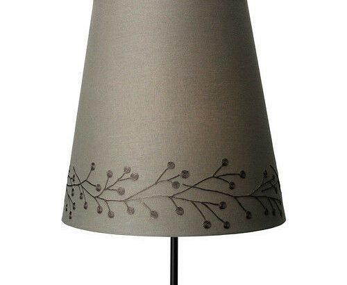 Ikea SKEBY Fabric Lamp Shade – 13″ – Taupe