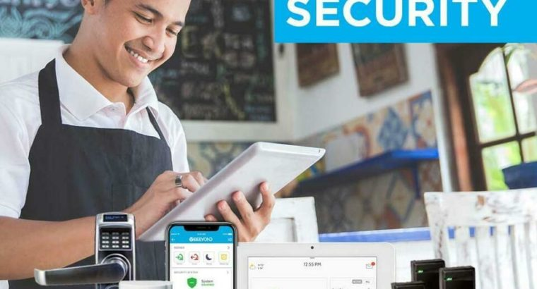 Business Commercial Security System | 24×7 Live Monitoring | CCTV Surveillance Cameras | Access Control | Automation