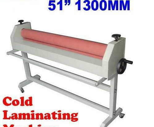 Cold Laminating Machine Laminator with Two Large Rubber Rolls(026041/026206)