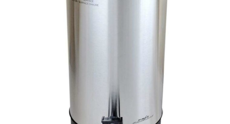 Cafe Amoroso 45 Cups Stainless Steel Commercial Electric Coffee Maker – Free Shipping