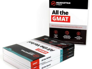 GMAT Self Prep Complete Bundle of Books 7th edition