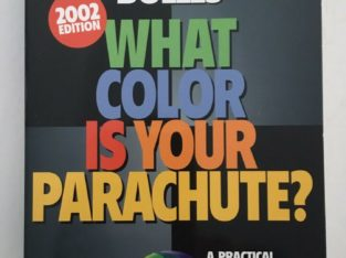 What colour is your parachute book