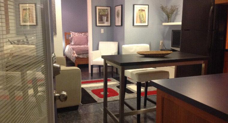 Fully Furnished 1-Bedroom Garden Suite – Vancouver