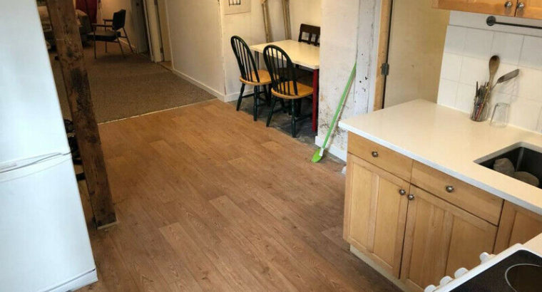 Bright 2BR Garden Suite. Avail now-May 15th. Main and Broadwy