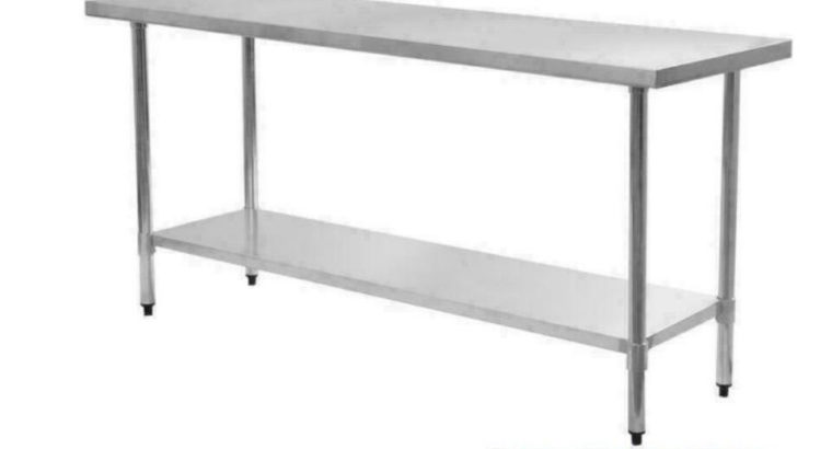 BRAND NEW STAINLESS STEEL SALE Work Tables/Sinks/Shelves/Faucets**GREAT DEALS**
