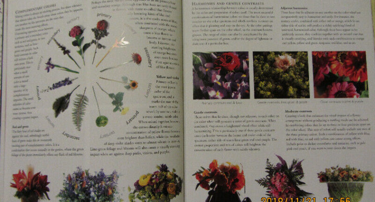 BOOK: FLOWERS FOR THE HOME – NEW!