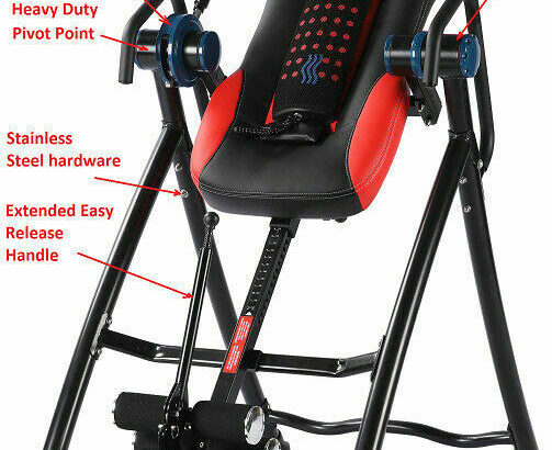 -NEW 2020 LUXOR HEALTH LH-1 Inversion Table (3 MONTHS FREE ONLY)