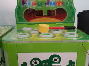 Frog jump arcade machine for sale! Everything must go!