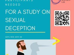 PSYCHOLOGY RESEARCH VOLUNTEERS NEEDED