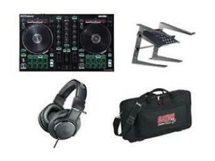 DJ Starter Pack 3 – Roland Controller, Case, Headphones, Laptop Stand Bundle – $510