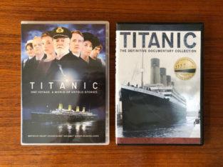 Titanic TV Miniseries & Titanic Definitive Documentary – DVD
