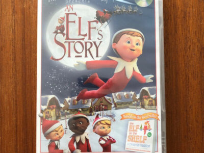 SEALED DVD – Elf on the Shelf An Elf's Story Based on Tradition