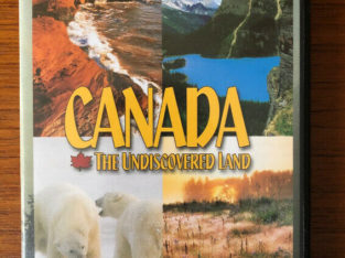 CANADA – The Undiscovered Land – 3 Discs Documentary – DVD