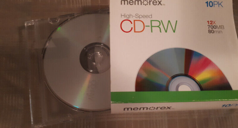 CD-RW pack of 5