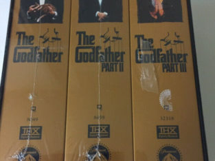 The Godfather: 1997 6 tape VHS set. Brand new in package.
