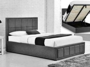 HAPPY SPRING SALE-Luxury fabric lift up storage bed (in queen and king)