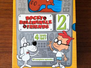 Rocky & Bullwinkle Complete Season 2 – 52 Complete Episodes DVD