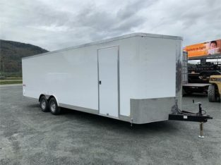 2019 8 1/2×24 TNT TRAX ENCLOSED CAR TRAILER 10,000lb