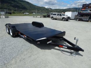 NEW 18′ 10,000lb STEEL DECK CAR FLATDECK TRAILER