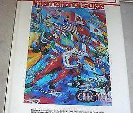 Calgary 1988 Winter Olympics Hotel Souvenir Hardcovered Book