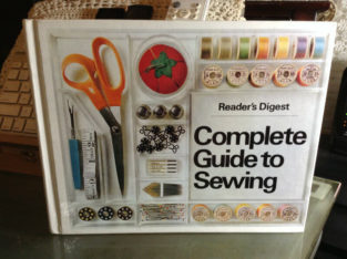 Reader's Digest Complete Guide to Sewing 1979 Book Vintage