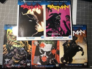 DC Comics Volumes 1-5 Batman Rebirth Like New Books