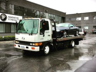 Towing and scrap car removal (flatbed tow truck)
