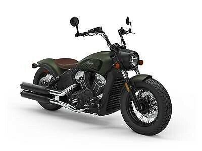 2020 Indian Motorcycle Scout Bobber Twenty ABS Sagebrush Smoke