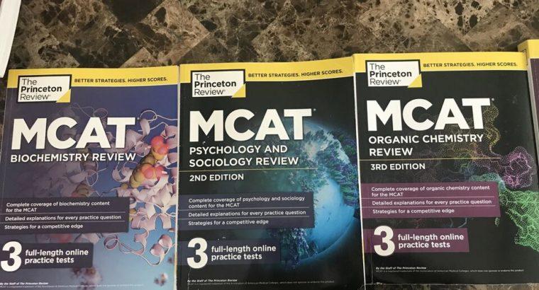 MCAT Princeton Review books