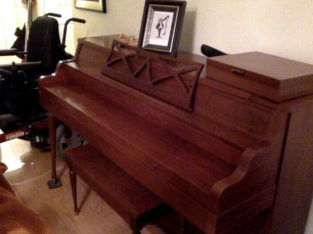 Apartment upright piano for sale
