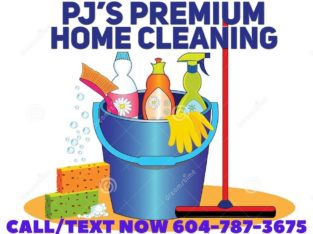 PJ's Premium Home Cleaning Services