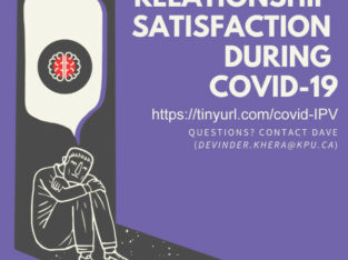 Wanted: Research Participants: COVID-19 and Relationship Satisfaction