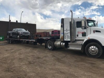 Delivery of jeeps, vehicles, boats, cars, equip. -HAUL 4 U