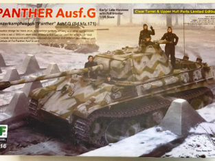 Rye Field Model 1/35 Panther Ausf.G Early / Late versions