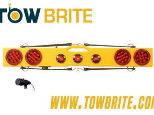 TowBrite 48in Wireless Tow Lights for Tow Trucks