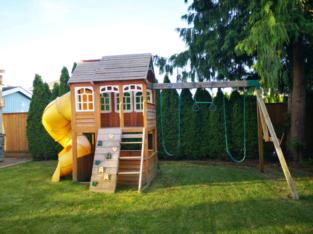 Gorgeous playground for kids