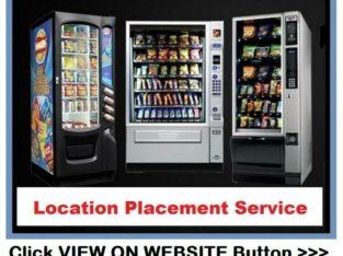 Let Us Locate Your Vending Machines In Profitable Locations