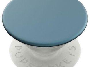 Popsockets POP 800944 Universal Cell Phone Expanding Grip & Stand – Aluminum Batik Blue (New Others)