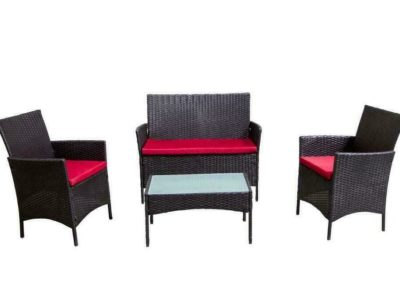 4 Piece Outdoor Patio Furniture set – Balcony – Condo – Front of house** AVAILABLE AGAIN JULY 11TH **