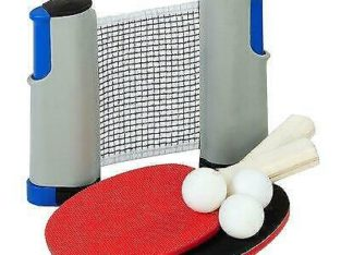 Outside Inside Freestyle Indoor/Outdoor Table Tennis Set
