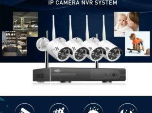 Protect your Property !!! Hiseeu 3MP True Wireless WIFI CCTV System 8CH NVR Kit with Face Detection , Free Fast Shipping