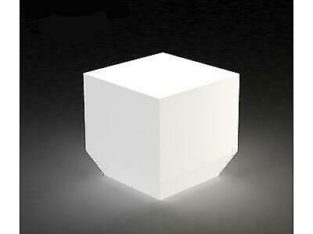 Vondom Vela Chill Matte Ice White Plug-In LED Outdoor Table Lamp